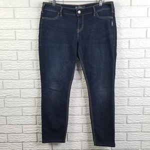 Silver Suki Jegging Jeans 33x28 Ankle Skinny